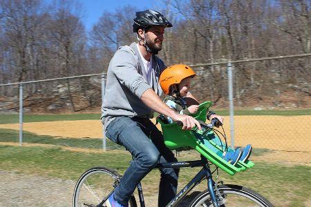 Silla bebé iBert para bicicleta