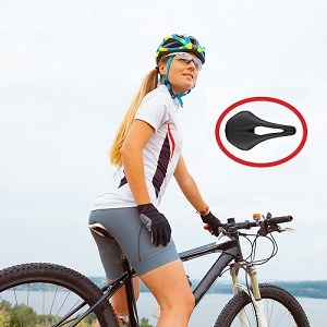 Sillín para Mujer en bici
