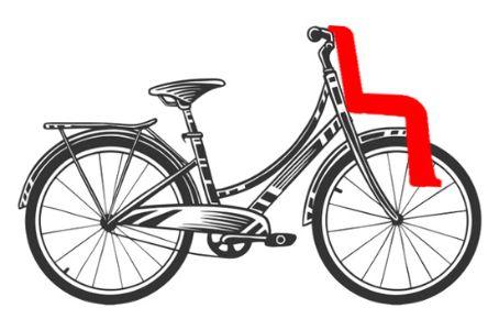Sillas de bebé delanteras para bicicleta