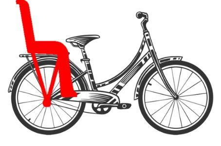 Sillas de bebé traseras para bicicleta